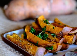 How to bake a sweet potato?